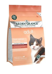 NEW Adult Cat: with fresh salmon & potato - grain free recipe